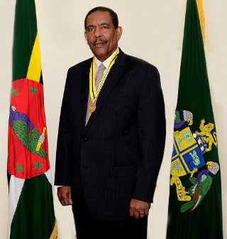 His Excellency The Honourable Charles Angelo Savarin, D.A.H.