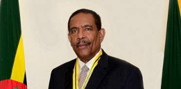 President of the Commonwealth of Dominica His Excellency Charles Angelo Savarin, D.A.H.